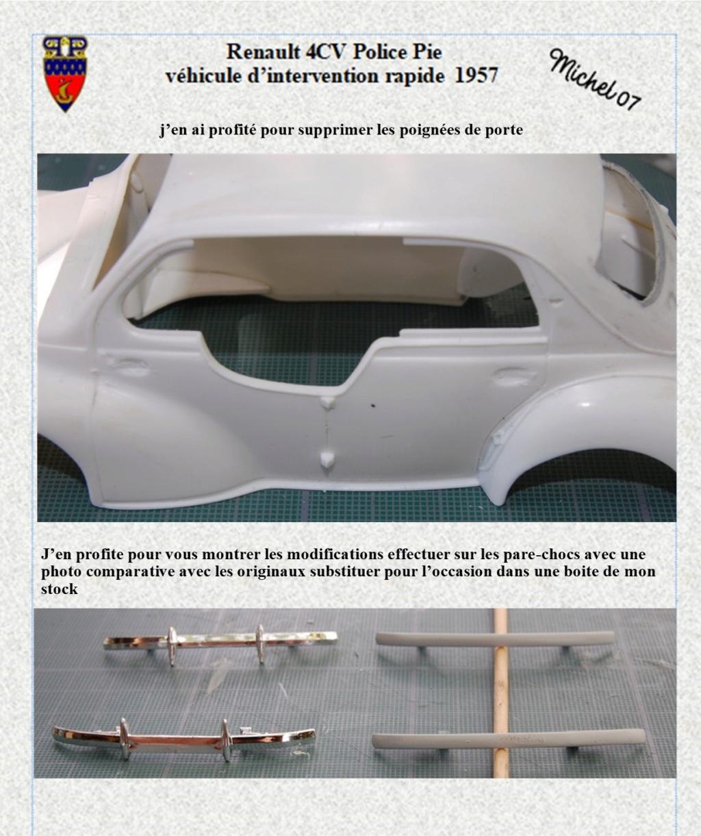 renault 4 cv pie 1957 Heller 1/24 (Terminé) Image132
