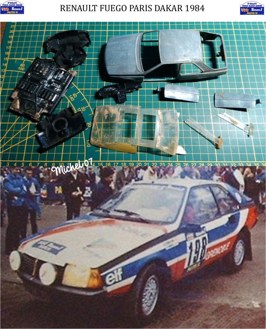 Défi 2020 - Renault Fuego 1/24 Paris Dakar 1984 Image153