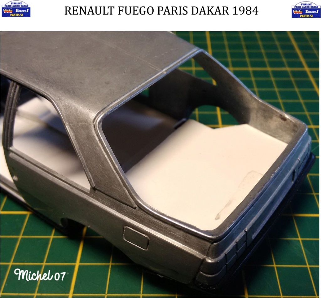 Renault Fuego 1/24 Paris Dakar 1984 - Page 2 Image160