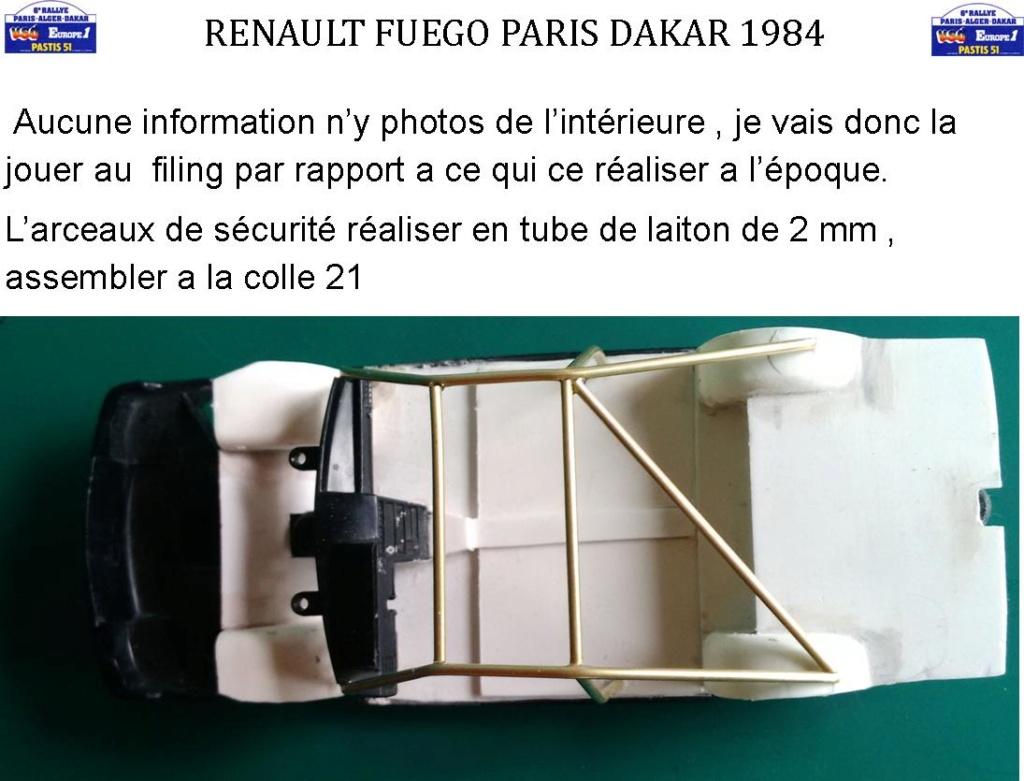 Renault Fuego 1/24 Paris Dakar 1984 - Page 2 Image163