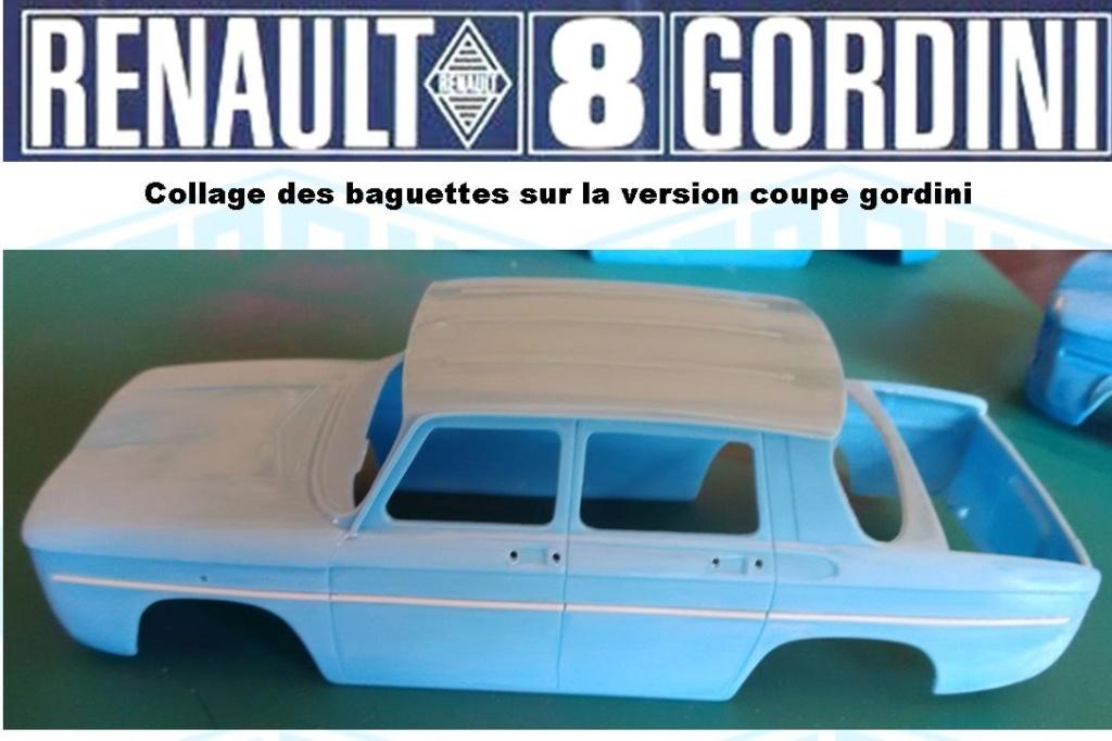 Trois Renault 8 gordini Heller 1/24 Image166