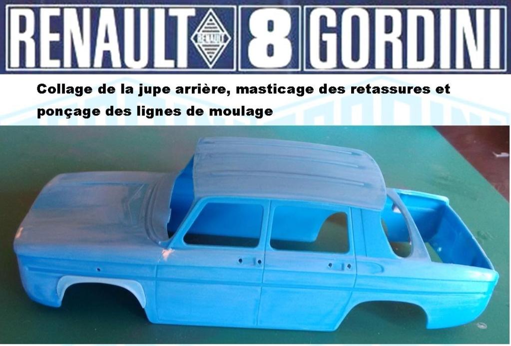 Trois Renault 8 gordini Heller 1/24 Image167