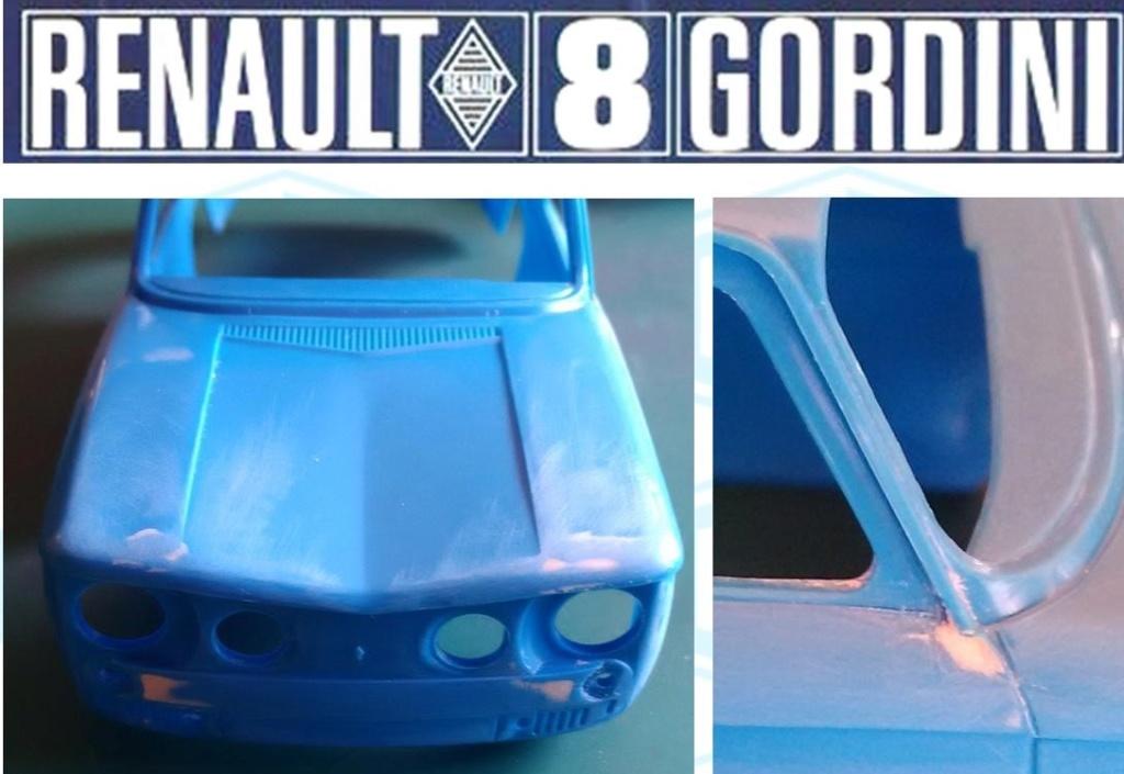 Trois Renault 8 gordini Heller 1/24 Image168