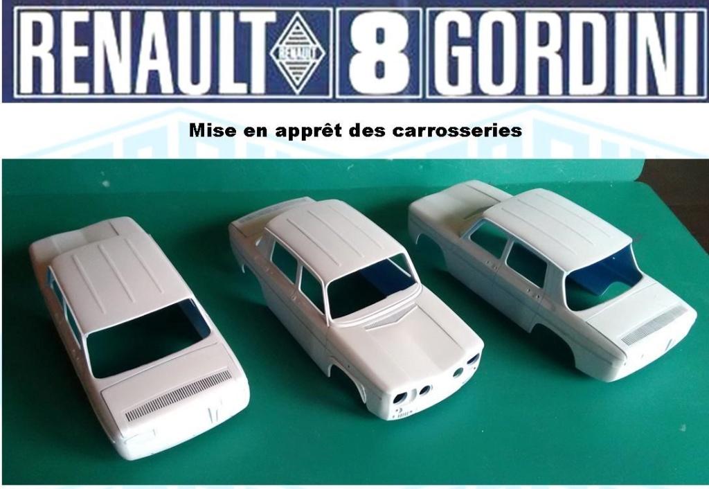 Trois Renault 8 gordini Heller 1/24 Image169