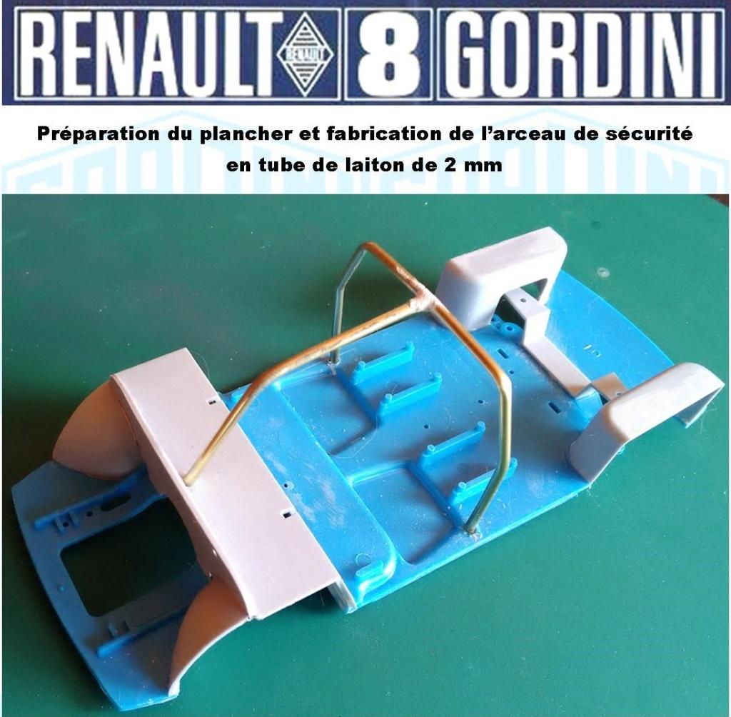 Trois Renault 8 gordini Heller 1/24 Image172