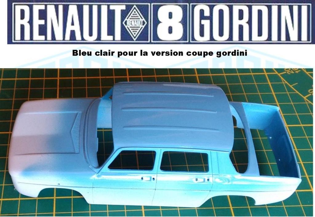 Trois Renault 8 gordini Heller 1/24 Image175