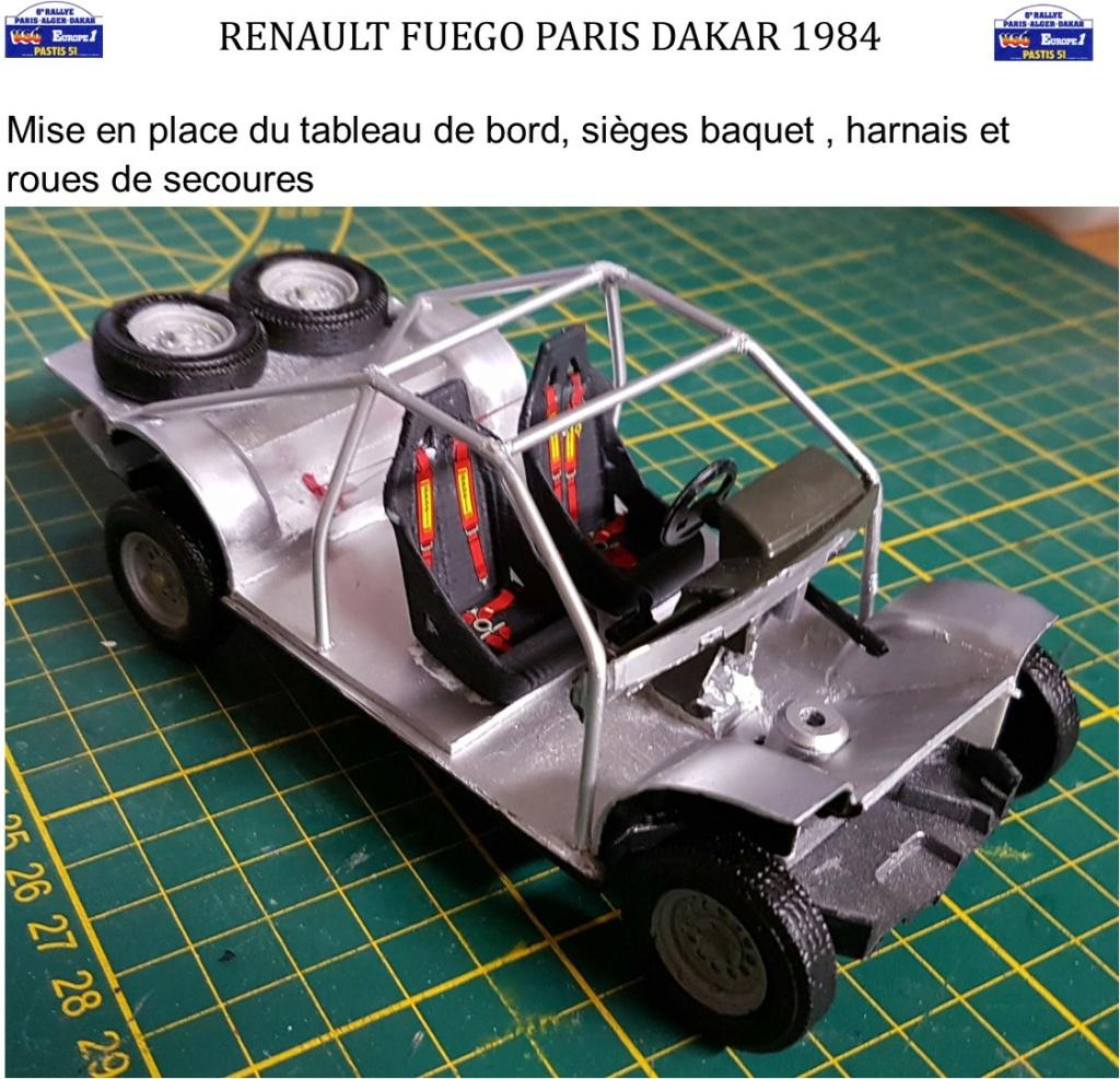 Renault Fuego 1/24 Paris Dakar 1984 - Page 4 Image176
