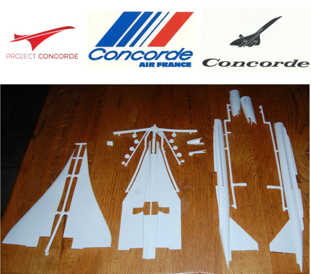 SUD AVIATION - BRITISH AIRCRAFT CORPORATION  CONCORDE Cie AIR FRANCE 1/100ème Réf 80458 Image212