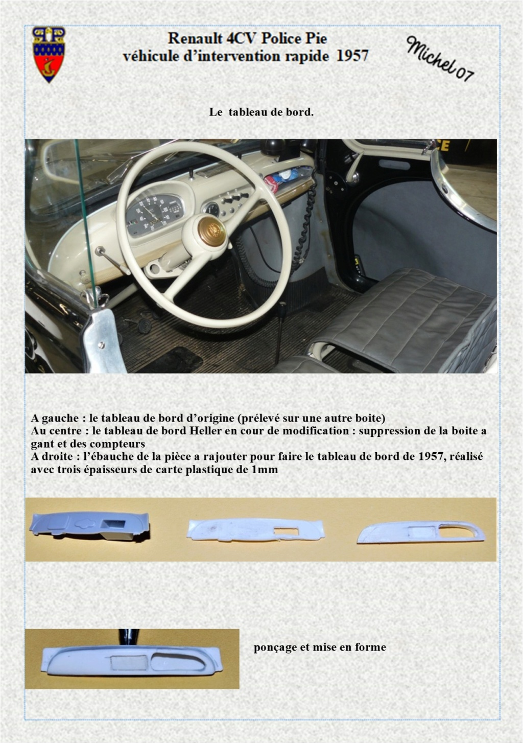 renault 4 cv pie 1957 Heller 1/24 (Terminé) Image219