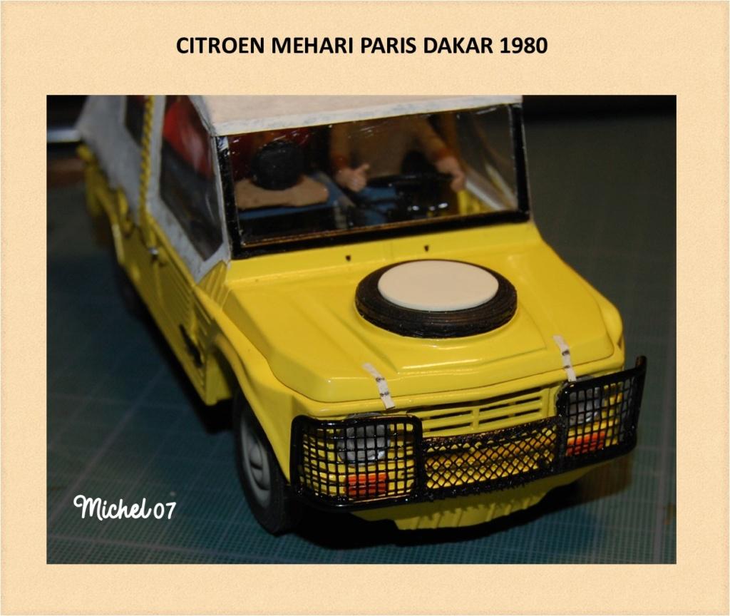 CITROEN MEHARI PARIS DAKAR 1980 HELLER 1/24 (Terminé) Image232