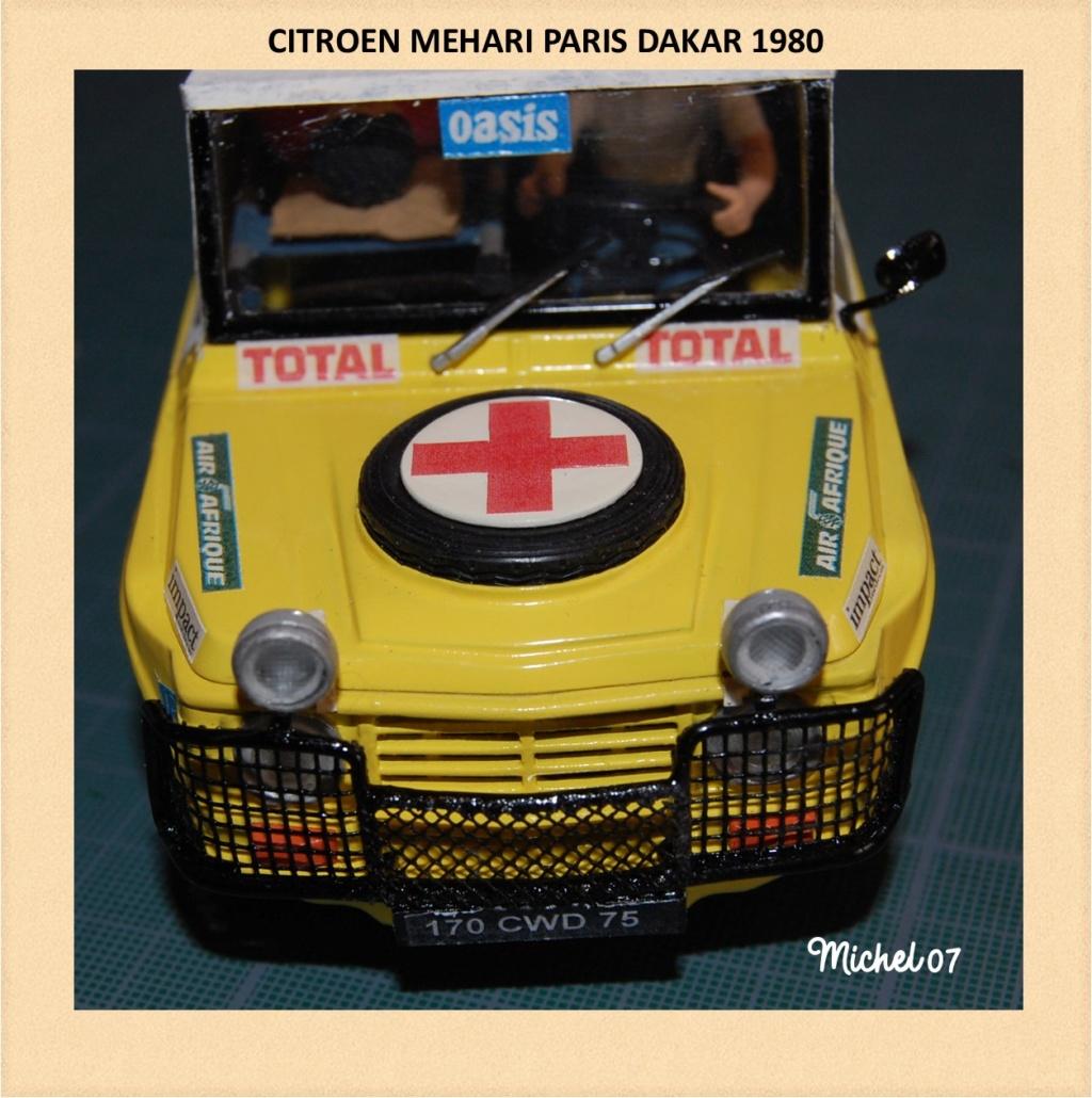 CITROEN MEHARI PARIS DAKAR 1980 HELLER 1/24 (Terminé) Image237