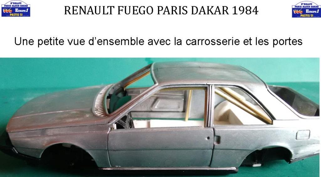 Renault Fuego 1/24 Paris Dakar 1984 - Page 2 Image242