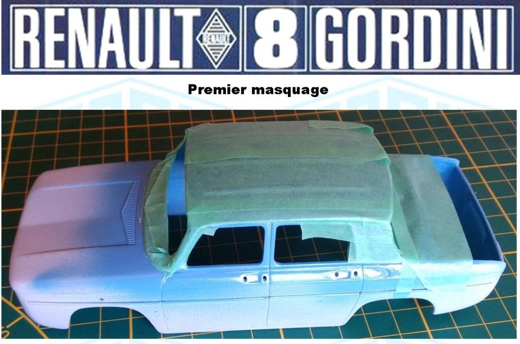 Trois Renault 8 gordini Heller 1/24 Image244