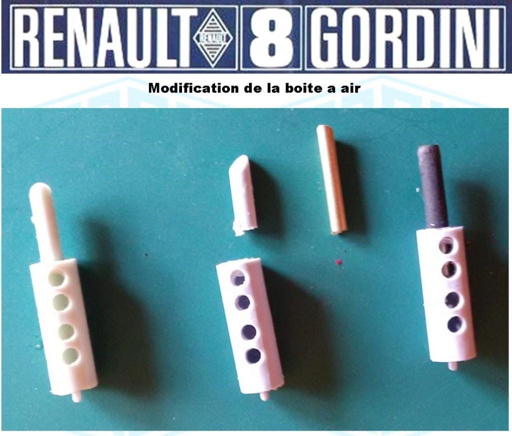 Trois Renault 8 gordini Heller 1/24 Image245