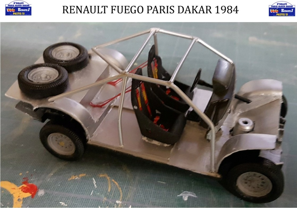 Renault Fuego 1/24 Paris Dakar 1984 - Page 4 Image249