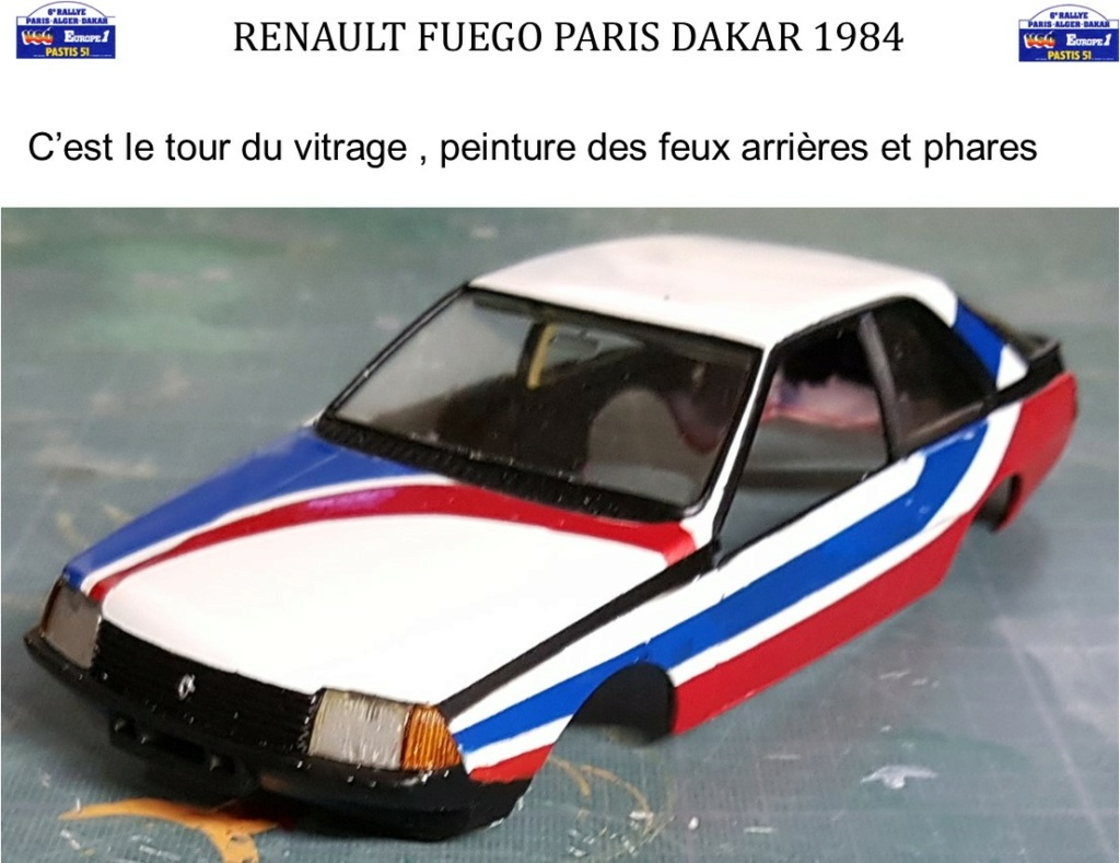 Renault Fuego 1/24 Paris Dakar 1984 - Page 4 Image337