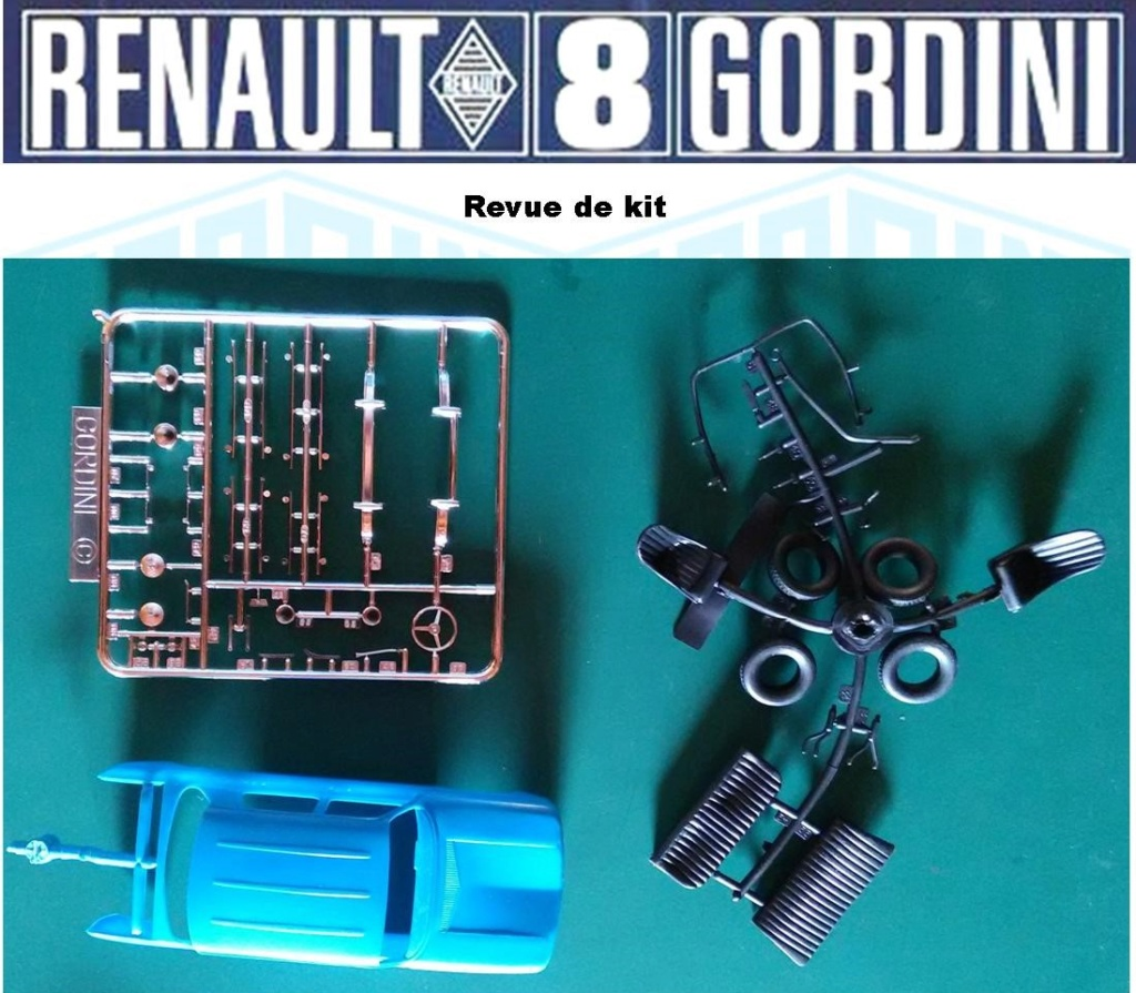 Trois Renault 8 gordini Heller 1/24 Image427