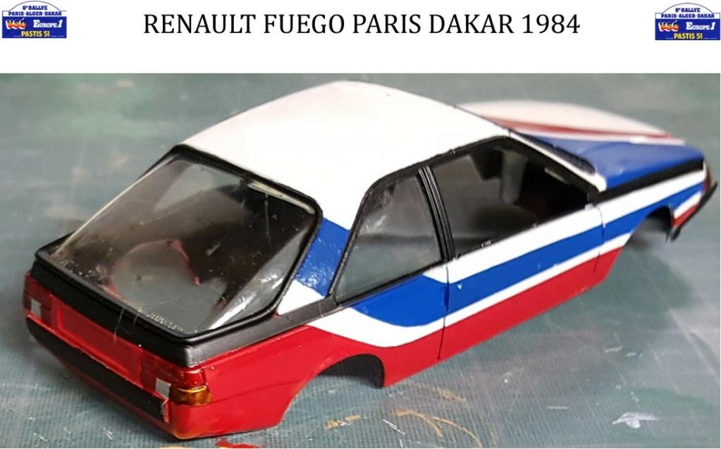 Renault Fuego 1/24 Paris Dakar 1984 - Page 4 Image429