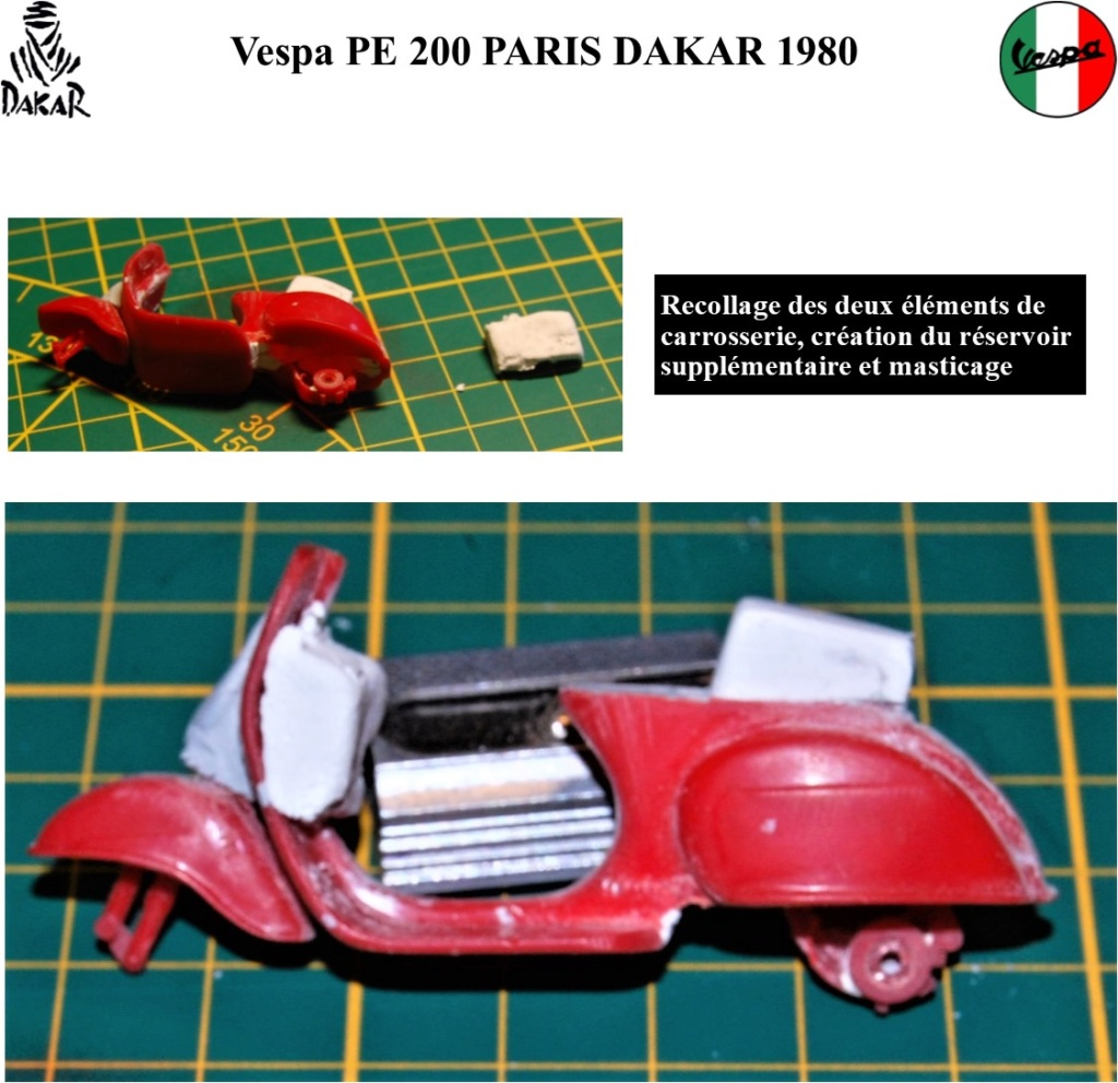 vespa PE 200 Paris Dakar 1980 1/24 (Terminé) Image617