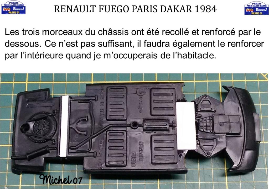 Défi 2020 - Renault Fuego 1/24 Paris Dakar 1984 Image620