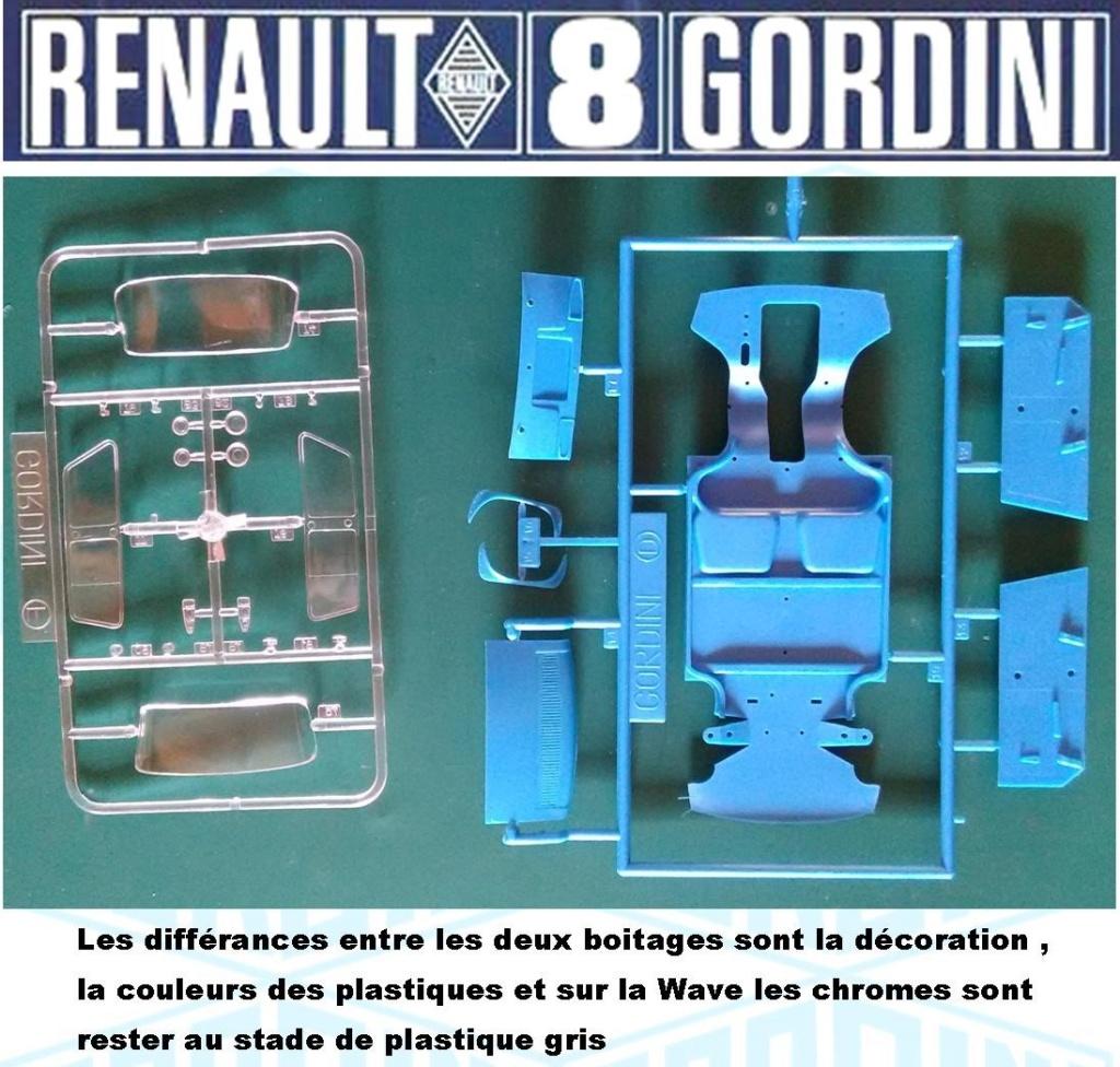 Trois Renault 8 gordini Heller 1/24 Image621
