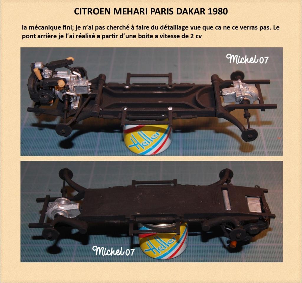 CITROEN MEHARI PARIS DAKAR 1980 HELLER 1/24 (Terminé) Image812
