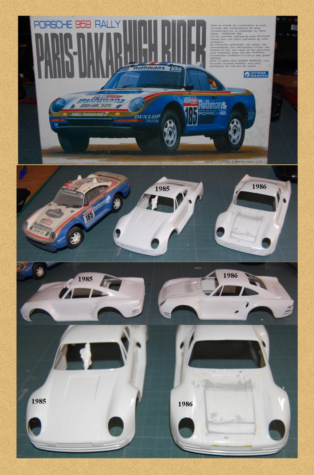 Porsche 959 Paris Dakar 1985 & 1986 Image910