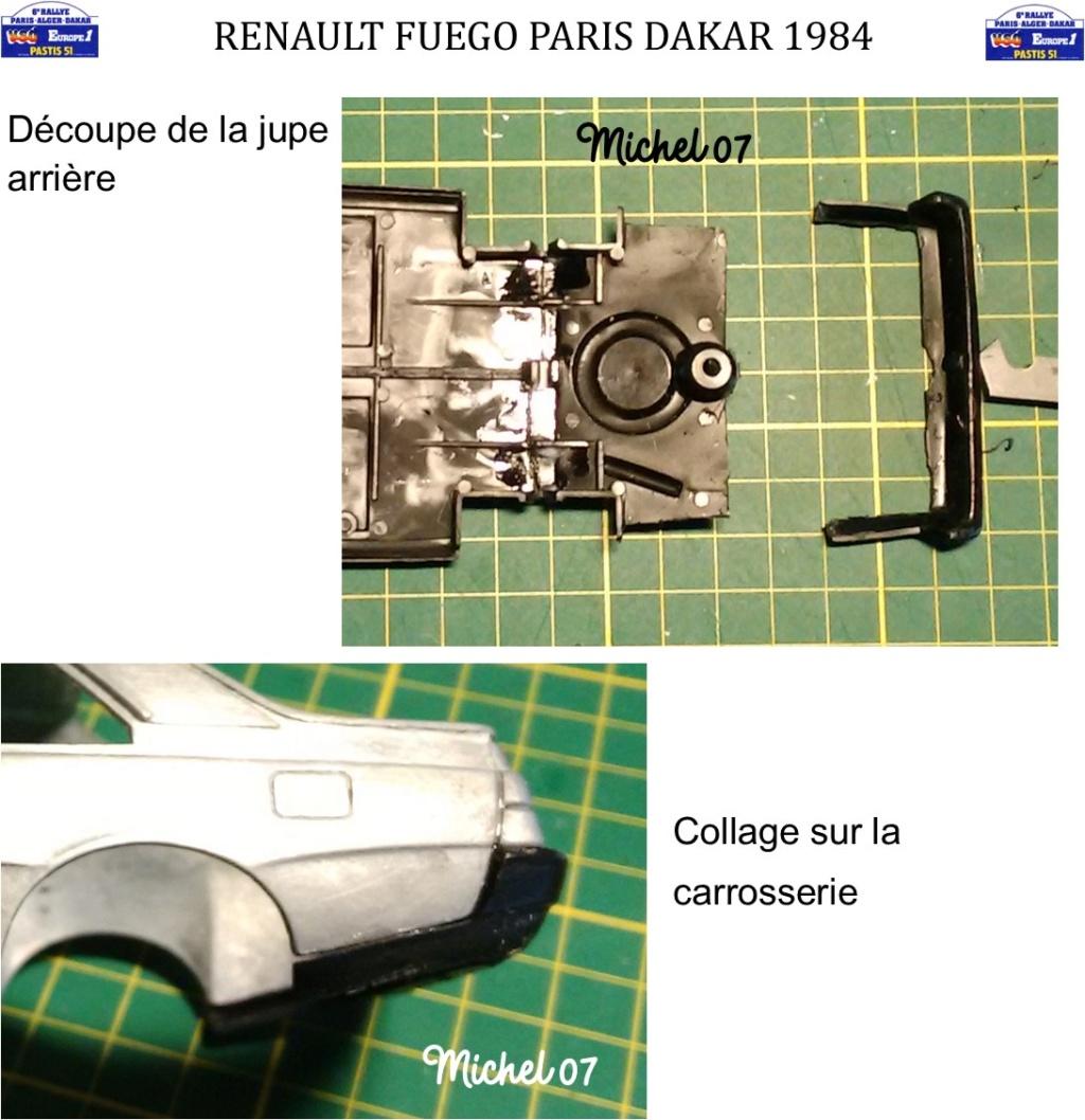 Renault Fuego 1/24 Paris Dakar 1984 - Page 2 Image913