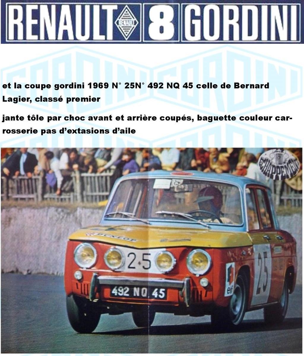 Trois Renault 8 gordini Heller 1/24 Image915