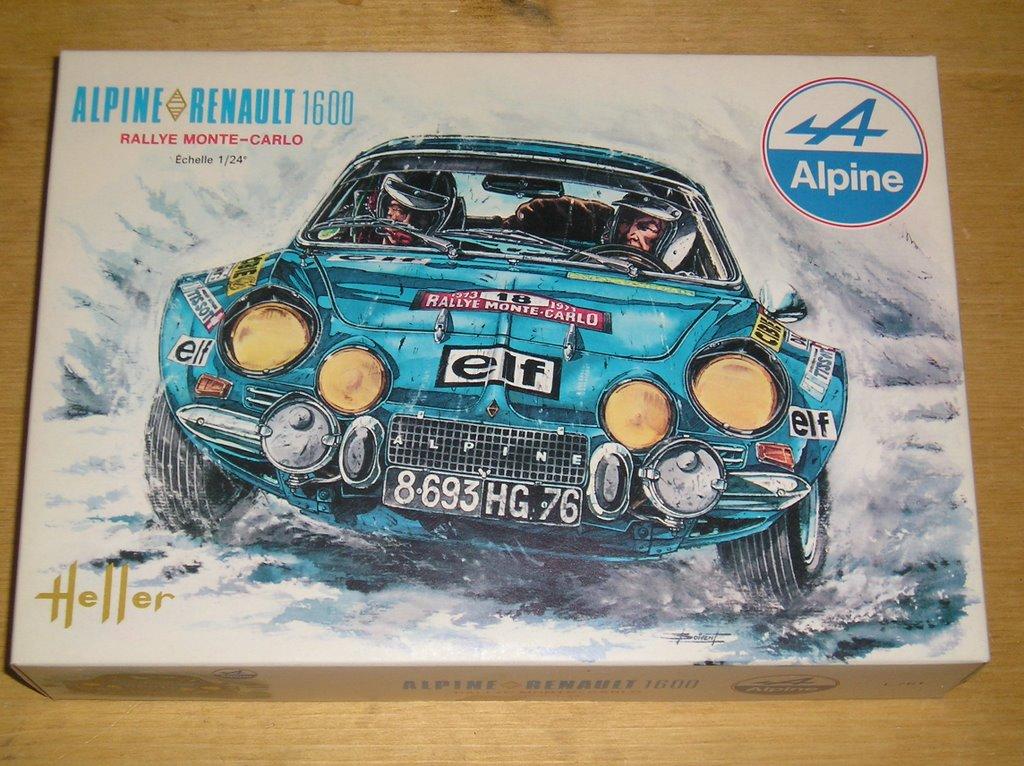 Fil rouge 2021 * Alpine A110 Groupe IV Tour de Corse 1973  1/24 Heller 80745  P9120110