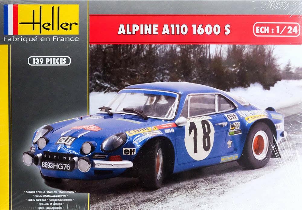Fil rouge 2021 * Alpine A110 Groupe IV Tour de Corse 1973  1/24 Heller 80745  S-l16011