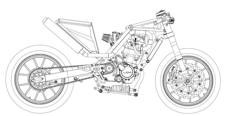 LC4 640 Racer... en 3D !!  - Page 37 Cadre-14