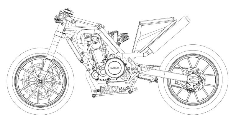 LC4 640 Racer... en 3D !!  - Page 37 Cadre-15