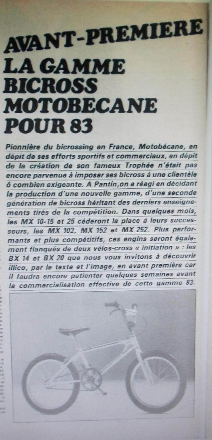Bicross motobecane mx 103 / 1983 Dscn7519