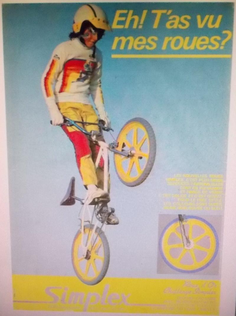 roues de BMX  ; SIMPLEX  ! 1983-84  Dscn7527