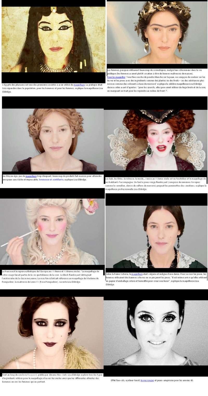Le maquillage à travers le temps Maquil11