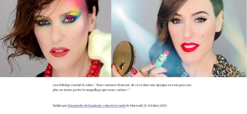 Le maquillage à travers le temps Maquil12