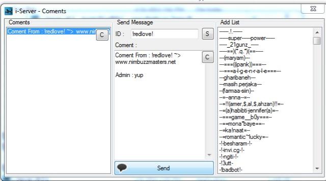 Nimbuzz: THE BEST SPYBOT SOFT  i-server v6.5.1.1 Nbm510