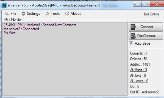 Nimbuzz: THE BEST SPYBOT SOFT  i-server v6.5.1.1 Nbm610