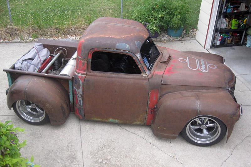 "#48 Chevy '47  ""cone's killer"" update du 9 octobre 47chev11"