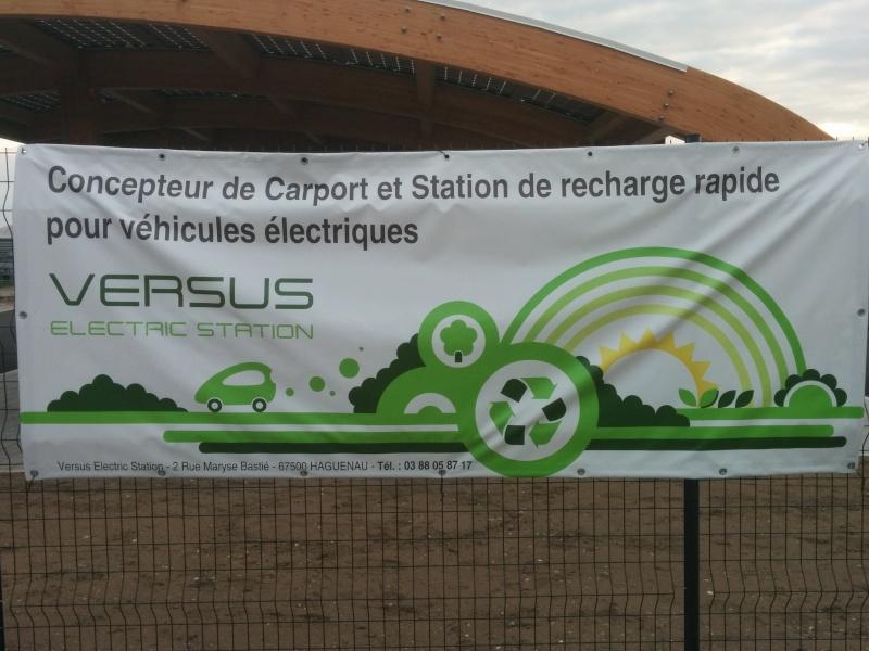 """Station de recharge  """"VERSUS"""" à Haguenau 2015-010"""