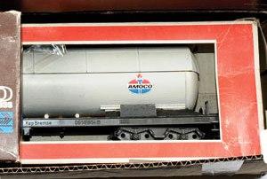 Wagon citerne Lima décoration Amoco Lima_c10