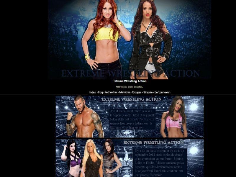 Extrême Wrestling Action Fed11