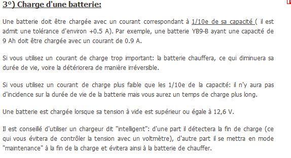 Fabriquer une batterie Charge10