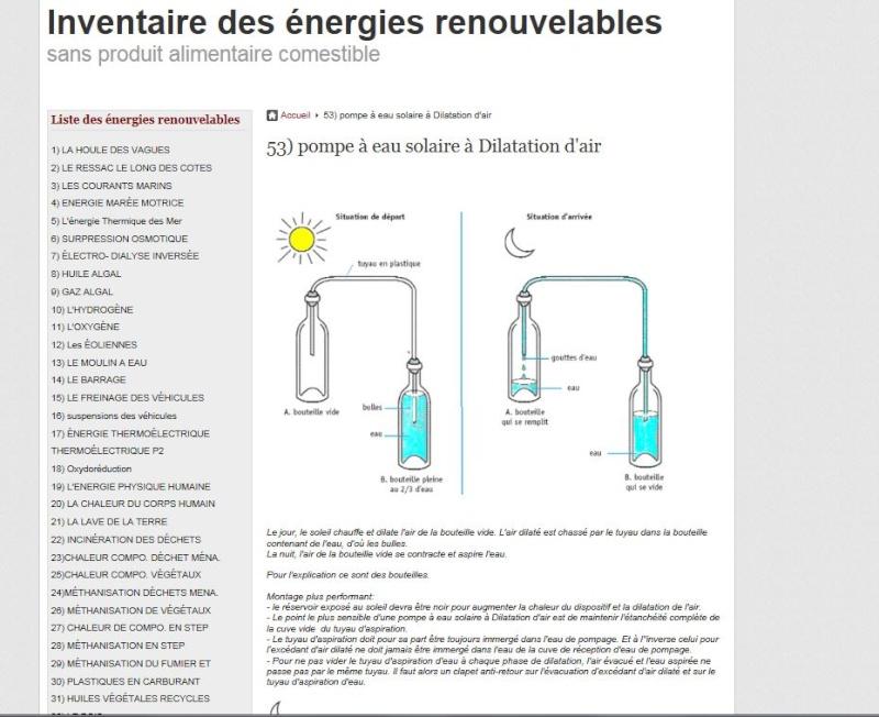 Inventaire des énergies renouvelables Invent10