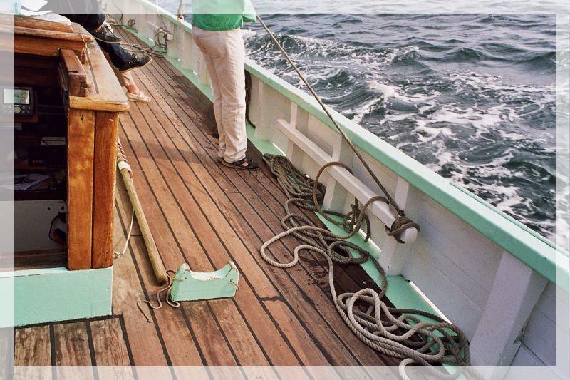 BISQUINE au 1/40 Kit Billing Boats modifié Xavero 0159110