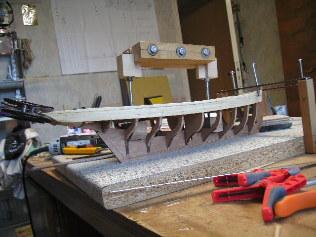BISQUINE au 1/40 Kit Billing Boats modifié Xavero Bild0010