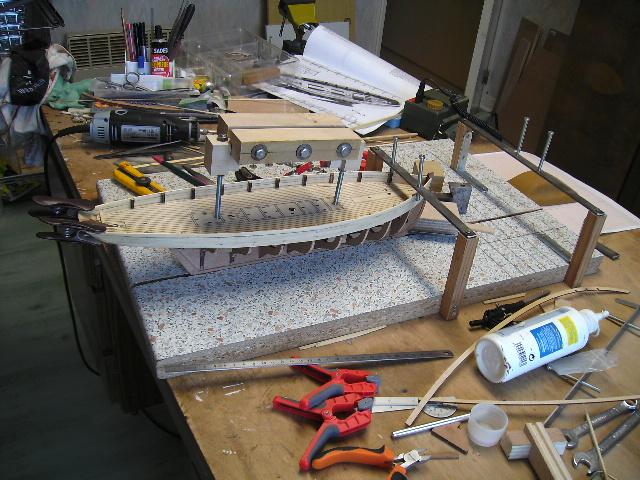 BISQUINE au 1/40 Kit Billing Boats modifié Xavero Bild0011