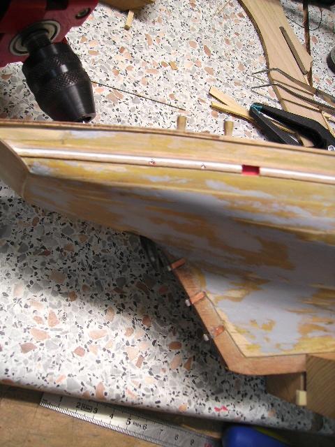 BISQUINE au 1/40 Kit Billing Boats modifié Xavero Bild0048