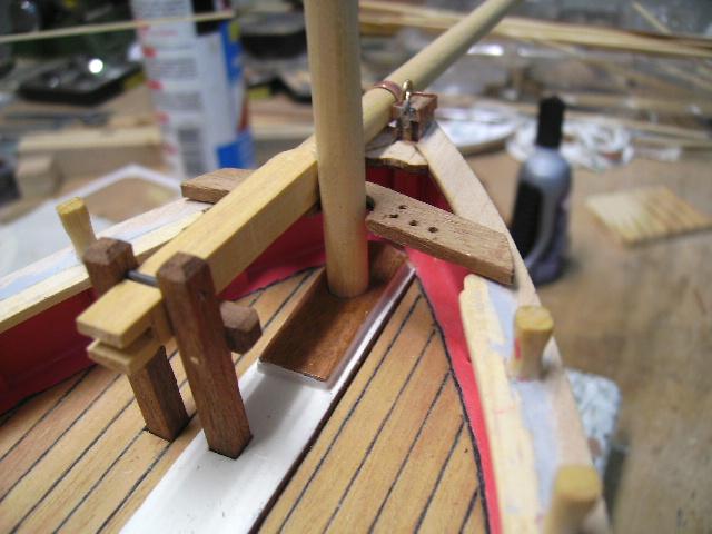 BISQUINE au 1/40 Kit Billing Boats modifié Xavero Bild0066